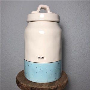 **SOLD** Rae Dunn Blue Treat Canister
